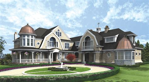 large luxury home plans newport elegance award winning luxury plan 23219jd