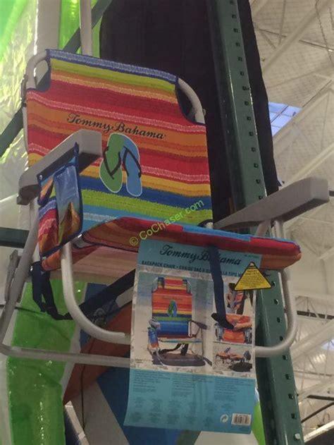 tommy bahama backpack beach chair costcochaser