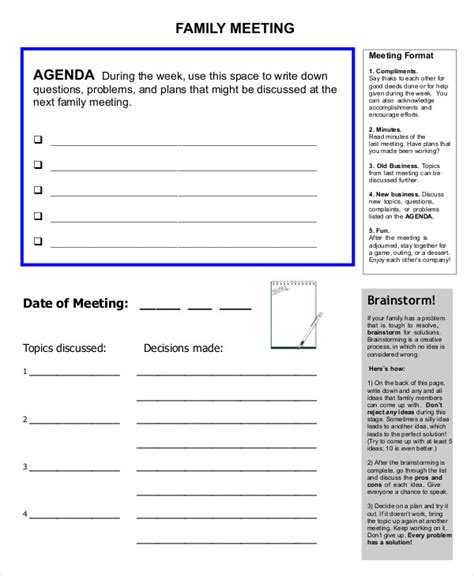 You wouldn't necessarily use this for creating a printable bulletin or program (those tend to. FREE 57+ Meeting Agenda Examples & Samples in DOC   PDF ...