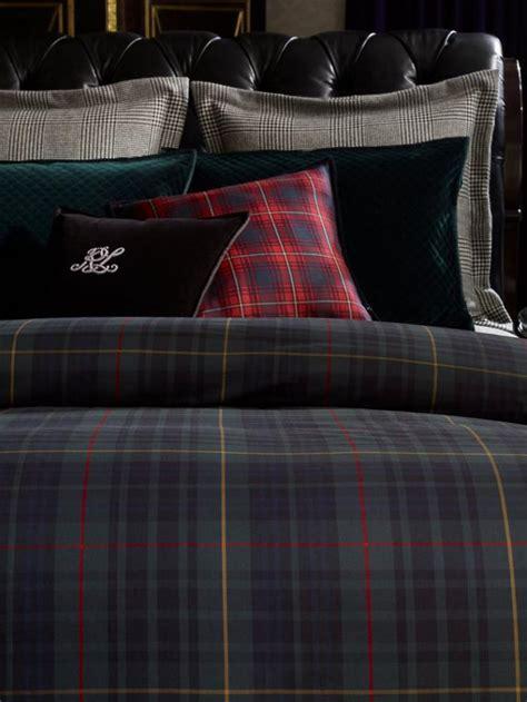 idees deco avec le tissu ecossais classique
