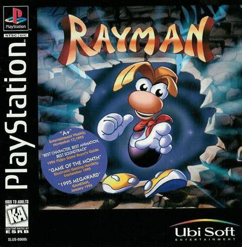 rayman  playstation  mobygames