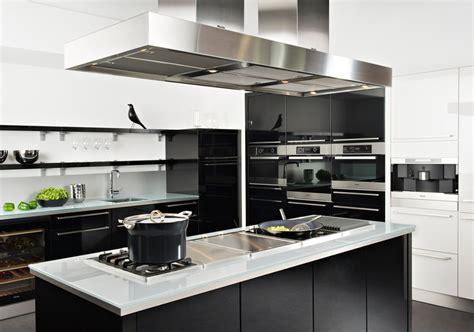 cuisine moderne noir et blanc la cuisine inspiration cuisine