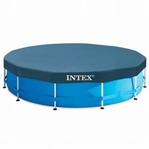 Bache Piscine Tubulaire Intex : bache pisc tub 3m05x76 intex decathlon ~ Dailycaller-alerts.com Idées de Décoration