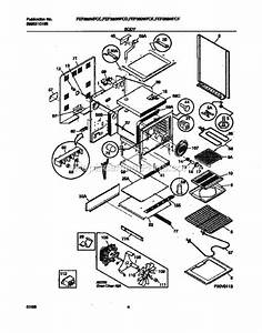 Frigidaire Fef389wfce Parts List And Diagram