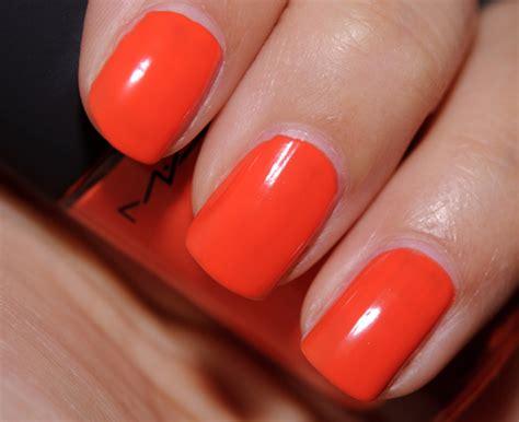 Mac Morange Lipglass, Lipstick, Nail Lacquer Review