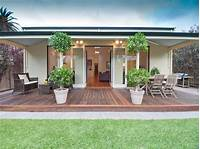 nice patio renovation design ideas Multi-level outdoor living design with bbq area ...