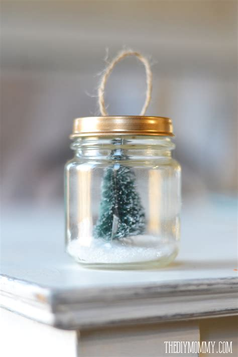 diy christmas ornaments christmas trees faux snow