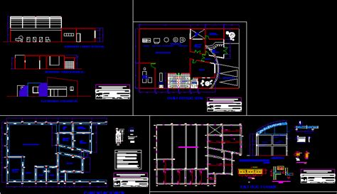 ice cream shop  autocad cad   kb