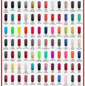 Color Nails : Gelish Nail Color Chart Gelish Gel Nail ...