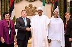 Photos: Pres. Buhari receives the outgoing ambassadors of ...