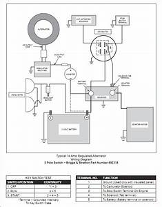 34 Briggs And Stratton 6 Terminal Ignition Switch Diagram