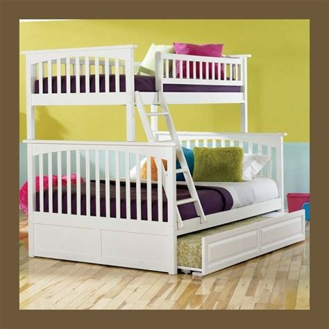 Bunk Beds With Trundle And Storage by Columbia White Bunk Bed Storage Or Trundle
