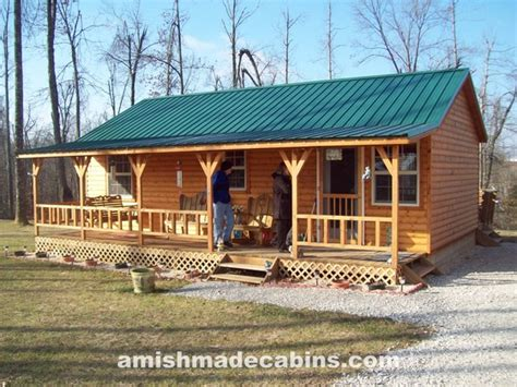 amish made cabins amish made cabins deluxe appalachian portable cabin kentucky