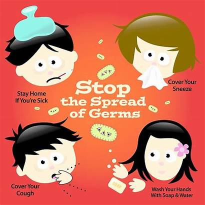 Spread Stop Wash Germs Cough Hands Stay