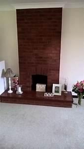 Moderniser Une Cheminée : salon cheminee en briques rouges repeindre comment ~ Zukunftsfamilie.com Idées de Décoration