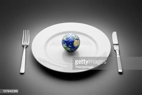 earth served  plate food globe planet world restaurant