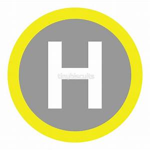 """""""Helipad Sign"""" Stickers by tinybiscuits Redbubble"""