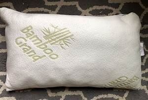 bamboo grand memory foam pillow review sleepopolis With bamboo pillow price