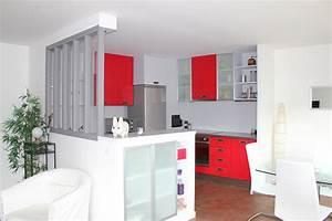 deplacement d39une cuisine With meuble pour separer cuisine salon 10 comment installer une verriare dans sa cuisine