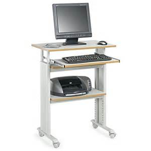 safco muv adjustable stand up workstation graygray by