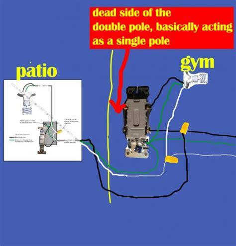 four way switch to single pole switch help doityourself