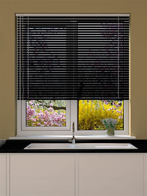 black venetian blind blinds direct