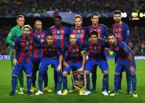 FC Barcelona Team 2017