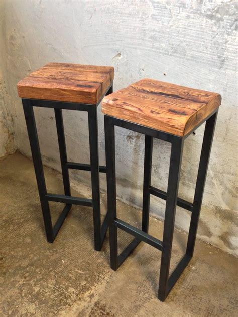Barhocker Und Tisch by 260 Barhocker Aus Fichte Und Stahl T 228 Nzler M 246 Bel