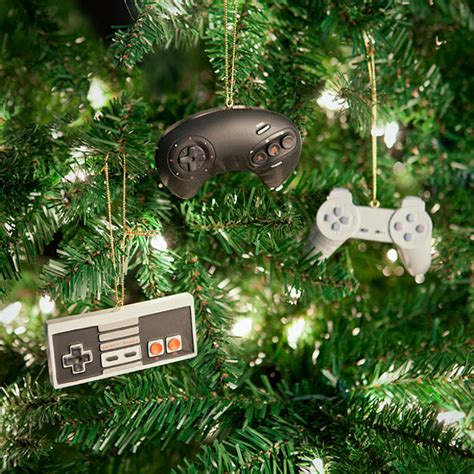 Classic Video Game Controller Ornament Set A Geeky Parent