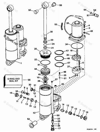 Tilt Trim Evinrude Power Diagram Wiring Johnson