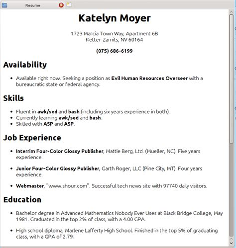 how do i create a resume haadyaooverbayresort