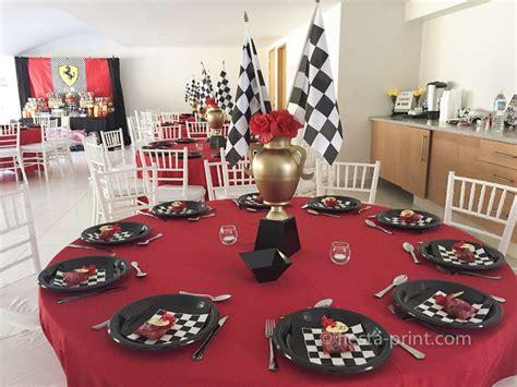 ferrari racing cars birthday party ideas photo