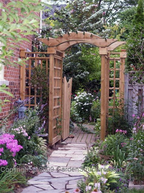 woodworking arbor designs for gardens plans pdf
