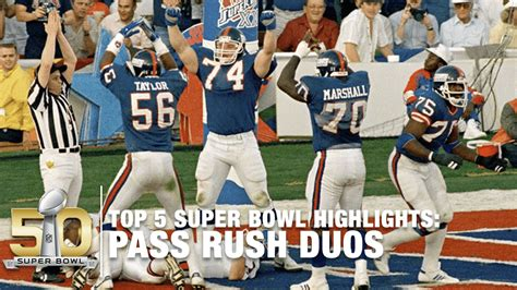 Top 5 Super Bowl Pass Rush Duos Of All Time Nfl Youtube