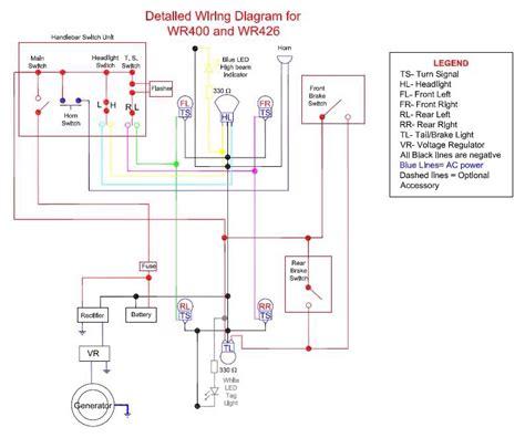 1986 yamaha yz125 wiring diagram 1986 yamaha tz250 wiring