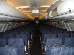 Delta Airlines Boeing 757 Inside
