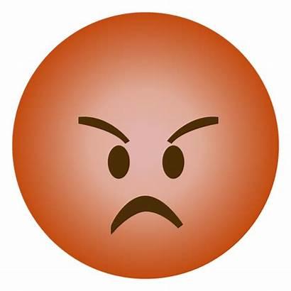 Emoji Angry Transparent Emoticon Enojado Svg Smiley