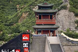 Danny Way Jumps The Great Wall Of China