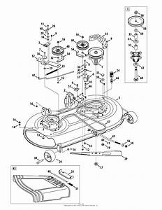 14 Yardman Riding Mower Belt Diagram