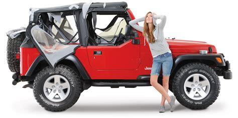 jeep wrangler unlimited sport top off jeep wrangler soft top advisor quadratec