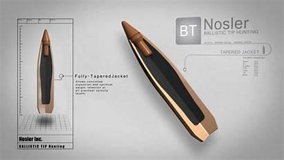 Nosler Polymer Ballistic Bullet Ammunition Hardened Tip