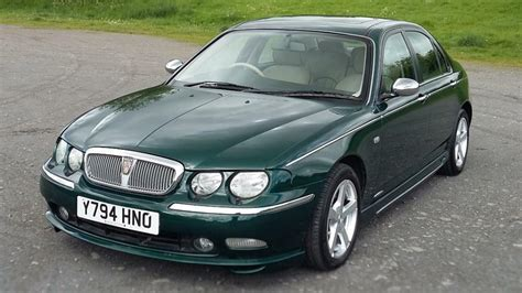 Rover 75 2.5 V6 Connissuer Met British Racing Green With