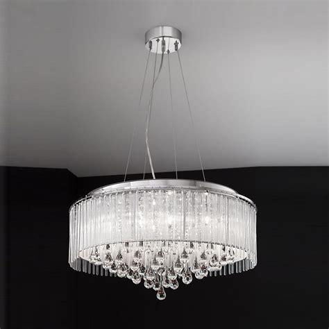franklite fl2161 8 spirit 8 light chrome ceiling fitting