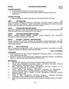 Anna University Syllabus M B A  Affiliated  Ft  U0026 Pt