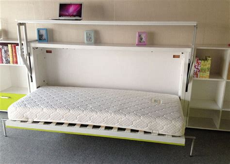 fold up bed fold up wall bed a larger room maker homesfeed