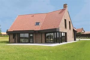 maison a la personnalite affirmee detail du plan de With photo de plan de maison 5 maison traditionnelle construite par guemas constructeur