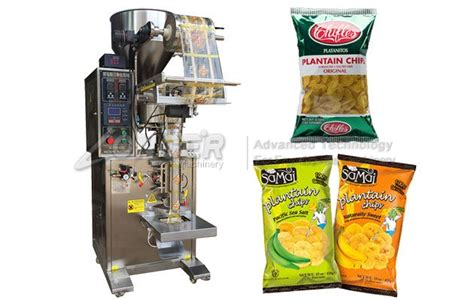 automatic plantain chips packing machine  sale