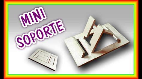 Soporte para Celular Casero MINI PORTÁTIL Pablo Inventos