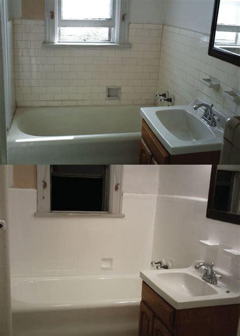 Refinishing Bathroom Fixtures by Best 25 Bathtub Refinishing Ideas On Bath