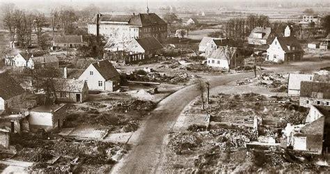 zweiter weltkrieg als friesoythe  schutt und asche lag